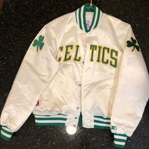 STARTER Jackets & Coats - Boston Celtics Starter Jacket